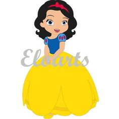 Disney Clipart, Cute Clipart, Disney Crafts, Disney Art, Image Deco, Snow White Birthday, Princess Pictures, Princess Party, Print And Cut