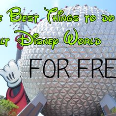 Best FREE Things to do at Walt Disney World...  It's a bit outdated, but the ideas are great, with cool pics and video!