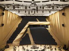 Conservatório de música em Aix en Provence / Kengo Kuma and Associates