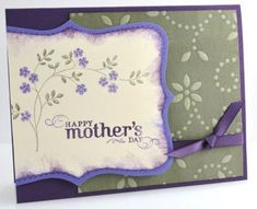 mothers day handmade card ideas | here s another mother s day card idea this card uses the thoughts and ...