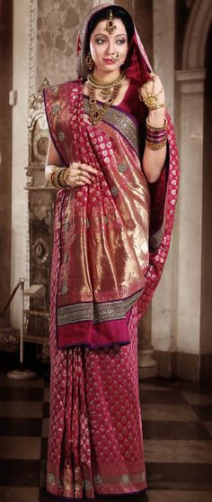 Beautiful wedding saree