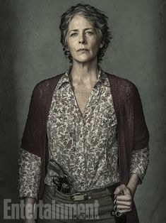 'The Walking Dead': Exclusive EW Portraits | Melissa McBride | EW.com