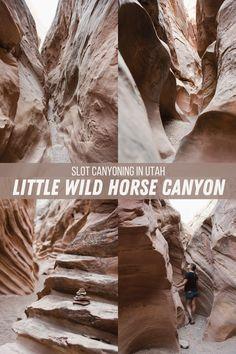 Slot Canyon, Canyon Utah, Moab Arches, Goblin Valley, Valley Road, Canyonlands National Park, Utah Hikes, Rv Travel, Wild Horses