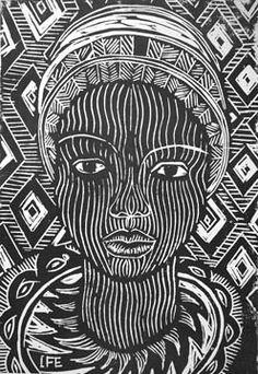 Margaret Burroughs Printmaking