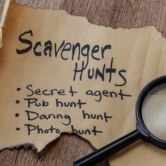 Insane Scavenger Hunt Ideas List