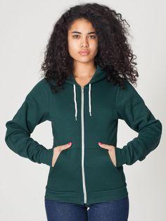 Unisex Flex Fleece Zip Hoodie | Zip Hoodies, Sweatshirts & Track Jackets for Women | American Apparel