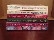 Lot of 6 Christian Romance including 4 Heartland Memories By Carole Gift Page