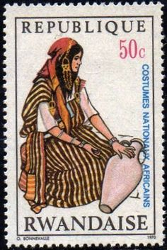 Stamp%3A%20Woman%20water%20carrier%2C%20Tunisia%20(Rwanda)%20(National%20African%20costumes)%20Mi%3ARW%20378%2CSn%3ARW%20345%2CYt%3ARW%20348%2CBel%3ARW%20348%20%23colnect%20%23collection%20%23stamps