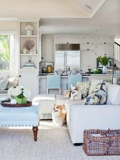 Coastal Home: Inspirations on the Horizon: Coastal Living Rooms