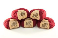 Enter to win the Red Wine Baby Wool Yarn Giveaway. Giveaway compliments of…