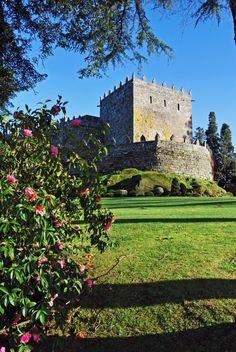 Castillo de Soutomaior. Gallicia