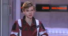 Thomas on The Death Cure set.