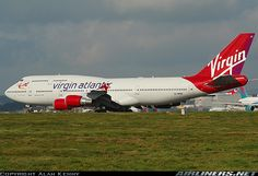 Boeing 747-443 aircraft picture Virgin Atlantic