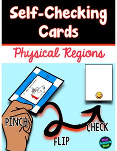 Physical Regions of Canada Self Checking Cards Physics, Self, Canada, Teacher, Student, Activities, My Love