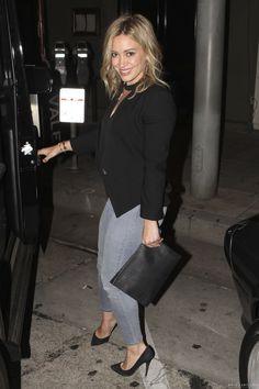 Hilary Duff Leaving Craig's Restaurant May 8 2014
