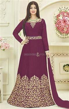 DesignersAndYou Buy Beautiful Purple Kalidar Floor Touch  Bollywood   Celebrity  Fashion  Gown dca23d125