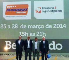 A MOVIMAT Transporte & Logística Nordeste, que acontece até dia 28 de março, acontece em Cabo de Santo Agostinho, em Pernambuco.