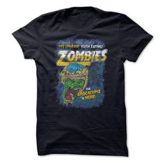 Zombies Everywhere! T-Shirts, Hoodies (19$ ==►► Shopping Here!)