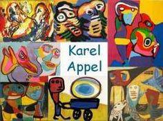 Leuke en informatieve powerpoint over Karel Appel voor 5, deze en nog vele andere kun je downloaden op de website van Juf Milou.