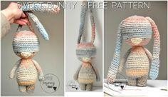 Crochet bunny free pattern
