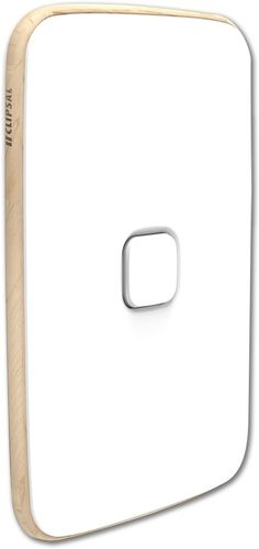 Clipsal Iconic Essence 1 Gang Skin Artic White - Clipsal - Essence switch skins are designed to easily clip on to the standard Iconic gridplate. Available in two colours, upgrading has never been easier or more instantly stylish.