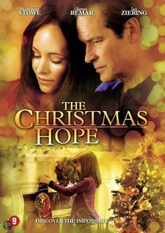 A married couple (Madeleine Stowe and James Remar) on the brink of divorce open their home to a foster child who has no place to spend Christmas. The child's presence inspires the pair to set aside their problems to celebrate the holiday. Based on the novel by Donna VanLiere. The Christmas Hope aired 2009 on Lifetime. It is the third part in a trilogy, preceded by The Christmas Shoes and The Christmas Blessing.