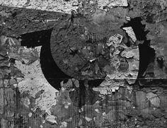 Aaron Siskind  Chicago 25  Gelatin silver print  1957