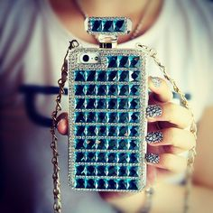 Kira Superstar Perfume Style iPhone 5/5s Case- Baby Blue F9S - Freaking NiceThe Way to be Special  Follow - shop - Fashion9shop.com   New arrivals and Promotion Code @fashion9shop #Padgram
