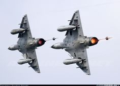 French Air Force (Armée de l'Air) Dassault Mirage 2000N 350 / 125-AJ (cn 308) Ramex Delta display team in action!
