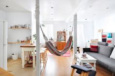 House Tour: A Small, Delicate & Minimal Montreal Studio | Apartment Therapy
