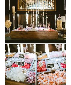 Amazing ideas for your dessert table and sweet bar  ~ we ♥ this! moncheribridals.com
