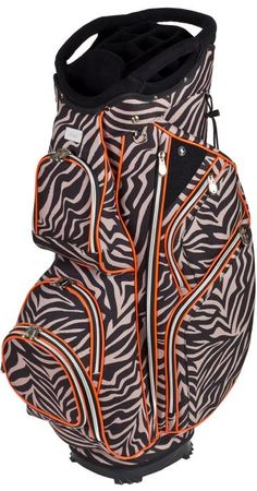 Stand out on the golf course with the bright, vivid patterns of this Brooklyn Cutler Ladies Golf Cart Bag! Your personality will shine through with a golf bag from #lorisgolfshoppe!