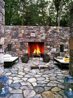 Stone Patio Design, Pictures, Remodel, Decor and Ideas - page 4