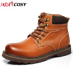 0c00f7ab New Arrival High Quality Genuine Leather Martin Boots Fur Warm Martin Shoes  Fashion Men Boots Ankle Botas Men Motorcycle Boots-in Motorcycle boots from  ...