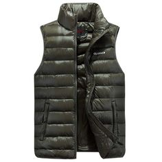 Promotion price  Winter waistcoat for men Duck down jacket vest ultra-light vestidos men's vest outwear Windproof Warm coat waistcoat male vest  just only $22.79 with free shipping worldwide  #jacketscoatsformen Plese click on picture to see our special price for you