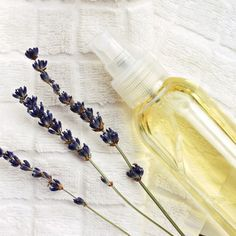 DIY Makeup Setting Spray with Lavender Oil