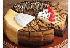 Suzy's Four-Flavor Cheesecake Gift Sampler by Wisconsinmade, http://www.amazon.com/dp/B00014TREU/ref=cm_sw_r_pi_dp_R3xerb1DBEVZ1