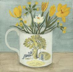 'Ravilious cup and Crocus' by Debbie George