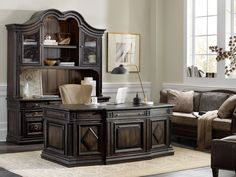 Shop Vetrano Executive Desk from Hooker Furniture at Horchow, where you'll find new lower shipping on hundreds of home furnishings and gifts. Cheap Bedroom Furniture, Cheap Furniture Stores, Furniture Sofa Set, Hooker Furniture, City Furniture, Affordable Furniture, Home Office Furniture, Small Furniture, Furniture Buyers