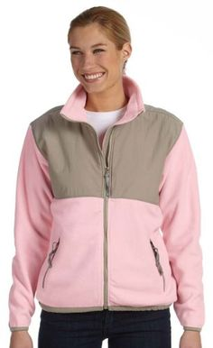Ladies' Microfleece Jacket - PINK - S... for only $26.04