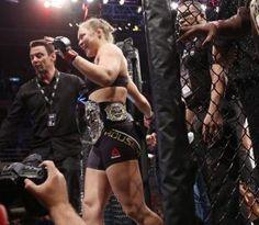 Ronda Rousey vs. Bethe Correia full fight video highlights
