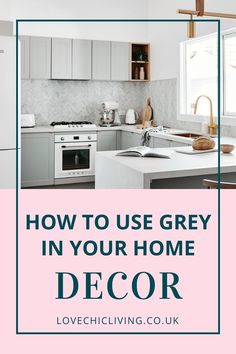 Lots of ideas on how to use grey in your home decor. Whether you would want a grey living room, office or kitchen, there are white and dark colour schemes for every home interior. Design your grey interior with pops of color and take inspiration from this modern shade. #lovechicliving#greyhome #greyinterior Popular Bedroom Colors, Popular Paint Colors, Gray Interior, Interior Design Tips, Bedroom Color Schemes, Colour Schemes, Living Room Grey, Colorful Decor, Home Decor Inspiration