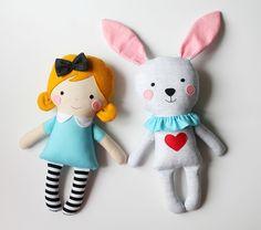 Mini Alice + Mini White Rabbit   Flickr - Photo Sharing!