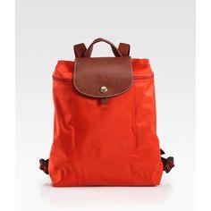 Longchamp Le Plaige Nylon Backpack