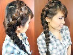 Popular on Pinterest: The 4-Strand Dutch Braid - Hair How To - Livingly