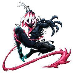 Marvel Dc, Marvel Comics, Symbiotes Marvel, Venom Art, Ink Splatter, Arte Dc Comics, Superhero Characters, Spider Gwen, Logo Sticker