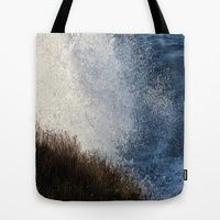 Tote Bag featuring OCEAN SPRAY by Teresa Chipperfield Studios