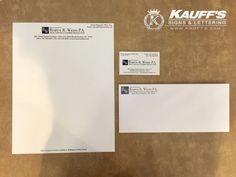 Do you need #Stationary #BusinessCards or #Letterhead ? Call Kauffs Printing today! (561) 775-3278 #KauffsPrinting #KauffsSocialMedia #SteveKauff #PrintShop #OneStopShop