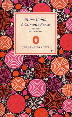 Publisher: Penguin Books / Series: The Penguin Poets / Designer: Hans Schmoller / Pattern by: Stephen Russ / Year: 1963