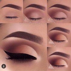 Makeup for beginners eyeshadow step by step 68 ideas - Eye makeup . - Makeup for beginners eyeshadow step by step 68 ideas – Eye makeup – - Makeup Eye Looks, Eye Makeup Steps, Smokey Eye Makeup, Eyeshadow Looks, Eyeshadow Makeup, Eyeshadow Ideas, Makeup Eyebrows, Eyebrow Makeup, Smoky Eyeshadow
